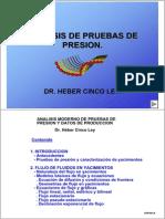 Apuntes Analisis de Pruebas de Presion - Heber Cinco Ley