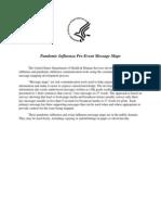 Pandemic Influenza Pre-Event Message Maps