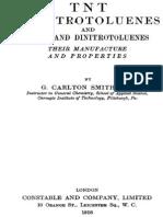 Tnt Trinitrotoluenes and Mono and Dinitrotoluenes