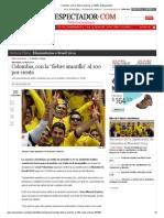 """Colombia, con la """"fiebre amarilla"""" al 100%_ El Espectador"""