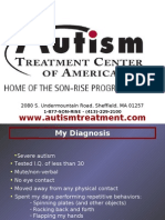 Autism Treatment Center Of America, Son Rise Program