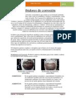 Inhibidores de corrosión