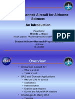 Using Unmanned Aircraft for Airborne Science