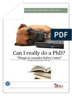 Can I Really Do a PhD?
