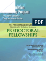 Ford Fellowship