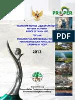 1 Kriteria Dan Mekanisme PROPER (Permen 06 2013)