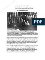 The Fraud of International Law Today