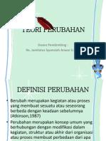 TEORI PERUBAHAN