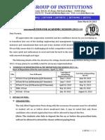 InforInformation for Academic Session 2013-14.pdfmation for Academic Session 2013-14