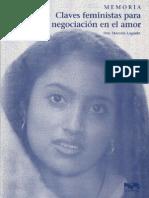 Claves feministas para la negociación en el amor  - Marcela Lagarde