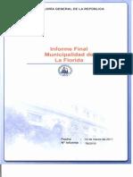 INFORME FINAL N° 78-10 MUNICIPALIDAD DE LA FLORIDA SOBRE AUDITORÍA AL MACROPROCESO DE GENERACIÓN DE RECURSOS DESARROLLO COMU