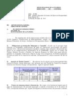 Informe Ejecucion Presupuestaria Marzo 2011