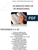 PRINCIPIOS BÁSICOS PARA UN AÑO DE BENDICIONES