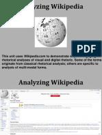 Analyzing Wikipedia Haley