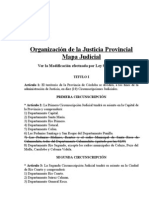 Mapa Judicial de Córdoba