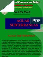 Geologia Clase x - A Aguas Subterraneas