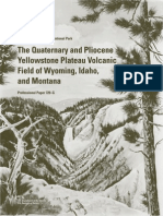 Quaternary Pliocene Yellowstone Volcanism Christiansen