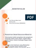 Kebijakan+Moneter+Islam Makro