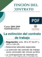 Extincion Del Contrato