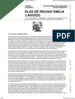 LAS ESCUELAS DE REGGIO EMILIA (LORIS MALAGUZZI) « Educadorasdeinfantil.es