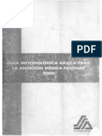 Guia Metodologica Basica Para La Atencion Medica Familiar