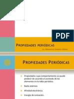 Propiedades periódicas