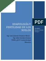 Ph Del Suelo y Conductividad Electrica