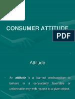Consumer Attitude