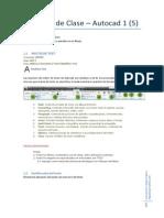 Apuntes de Clase - Autocad 1(5)