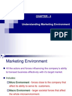Understanding Marketing Environment
