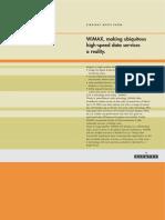 Alcatel WiMax Write Paper