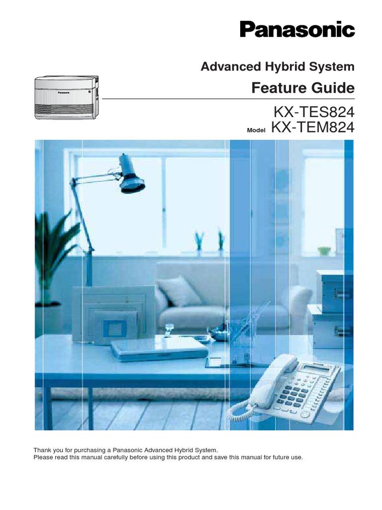 Panasonic kx-tea308 installation manual.