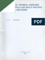 5 Appendices Doh Technical Guidelines Hospital Design 25 Bed