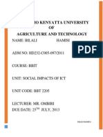 OMBIRI Assignment Impacts of ICT