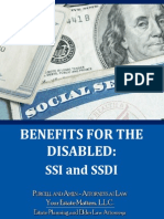 Benefits for the Disabled