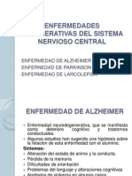 Enfermedades Degenerativas Del Sistema Nervioso Central