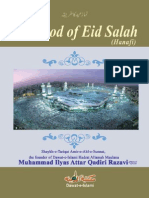 Method of Eid Salah,,(English) Muhammad Ilyas Qadri