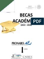 Becas Academicas (CNBES)