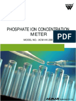 Phosphate Ion Concentration Meter