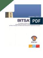 BITSAT2013 Brochure