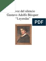 La voz del silencio Gustavo Adolfo Bécquer