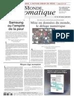 Monde Diplomatique, juillet 2013