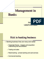 Risk Management in Banks-rini Sinha