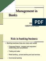 Risk Management in Banks-rini Sinha