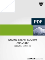 Online Steam Sodium Analyzer