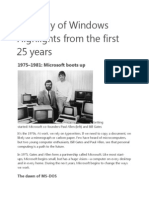 A History of Windowshh