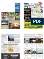 "Kuta Weekly-Edition 357 ""Bali's Premier Weekly Newspaper"""
