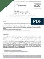 Modelling Sustainability