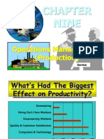 Operations Management (Production