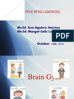 Multiple Intelligences 12-10-13
